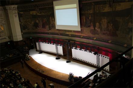Défilé de mode à la Sorbonne