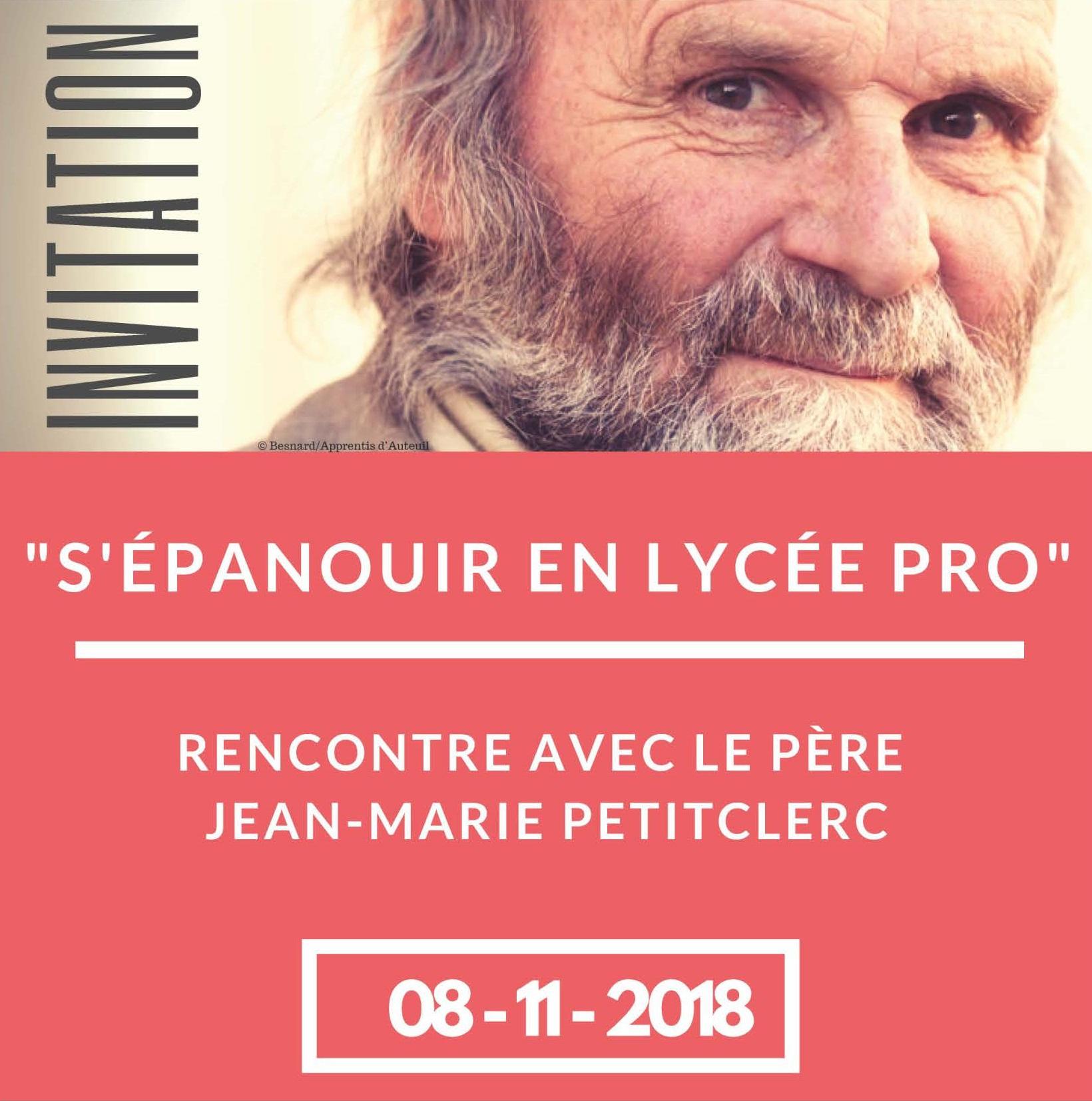 Le Père Jean-Marie Petitclerc animera une conférence à Saint-Nicolas le 8 Novembre prochain
