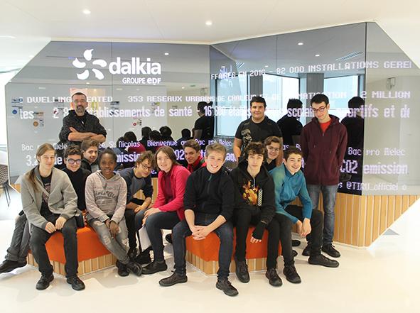 Visite de la SUC et du Showroom de Dalkia